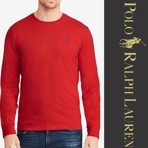 Ralph Lauren Polo Classic Fit Long Sleeve Crewneck